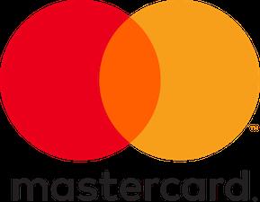 We accept MasterCard!